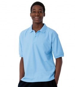 Printed and Embroidered Adults Jerzees 539 Polo Shirts 1